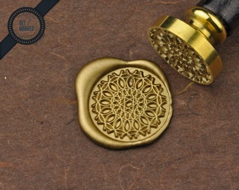 Vintage Pattern - Wax Seal Stamp by Get Marked (WS0278)