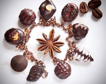 Bracelet with chocolate sweets