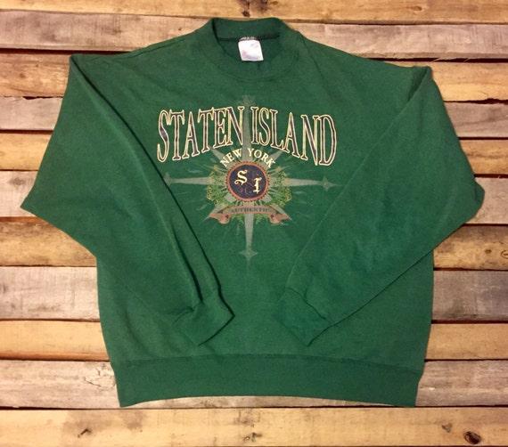 Vintage Staten Island Crewneck Sweatshirt