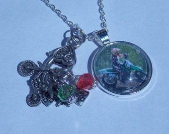Photo Motocross Necklace