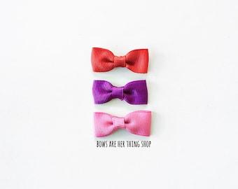 RIBBONS mini bow set