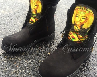 RBG African Timberland Boots