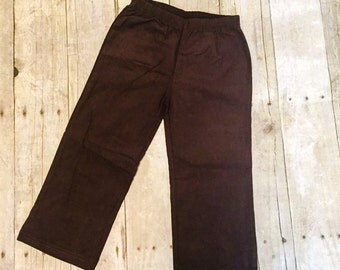 Boys Corduroy Pants - Boys thanksgiving pants - corduroy pants - fall outfit - brown corduroy pants