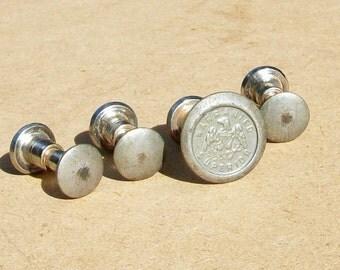 Vintage Warranted Superior  Hand Saw Nickel Plated Medallion & Screws