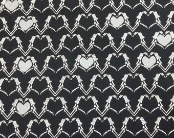 Patchwork fabric - Zombie Love