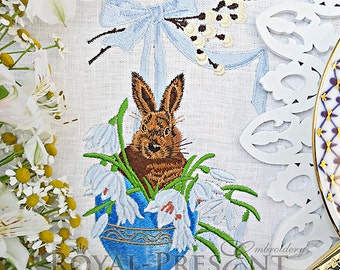 Machine Embroidery Design - A Happy Easter #2