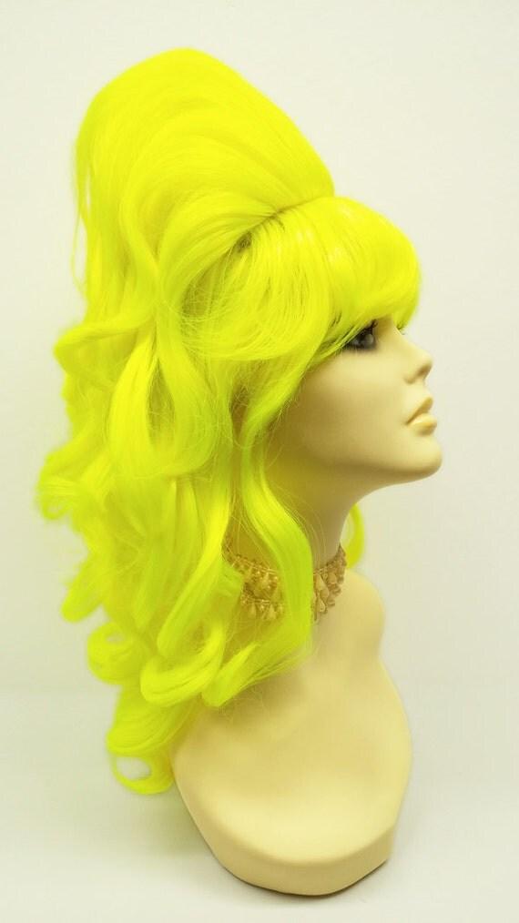Yellow Beehive Wig 99
