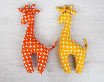 FREE SHIPPING Giraffe Pillow, Stuffed Giraffe, Pillow, Nursery Decor, Soft Toy, Kids Room Decor, Giraffe Cushion, Decorative Pillow