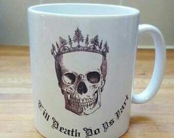 Till death do us part bride mug