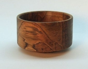 Hand Turned Ambrosia Maple Bowl