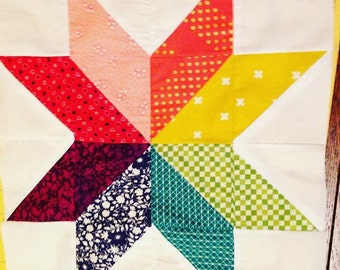 Star Quilt Square