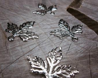 Leaf Plate Applique ~4 pieces #100230