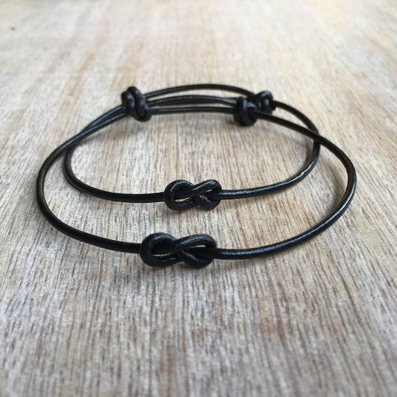 Simple Bracelet Couple Bracelets His And Her Bracelet By