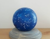Hand-painted Wooden Constellation Globe