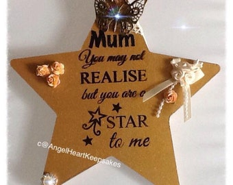 Mother's Day Gift, Friend Gift, Thank You, Mom, Mam, Personalised Gift, Mum Gift