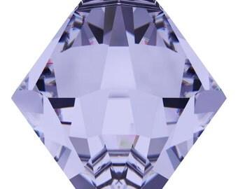 Swarovski Crystal Bicone Pendants 6301/6328 - 6mm 8mm - Provence Lavender
