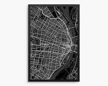 saint louis city street map saint louis missouri usa modern art print saint