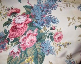 Vintage Waverly Suwanee Fabric 6 yds +