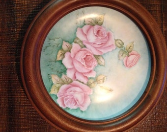 Hand Painted Plate by Annette LeFebre