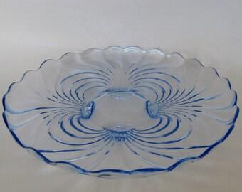 Cambridge Glass Serving Plate