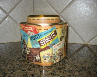Hershey's Vintage Tin Canister