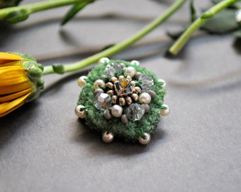 "Brooch ""Green Fairy"""
