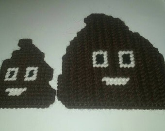 Big poo and a small poo.magnets.
