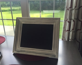Distressed Chalkboard Picture Frame
