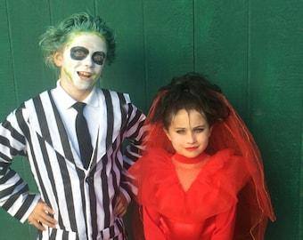 Lydia deetz costume toddler or children halloweeen beetlejuice