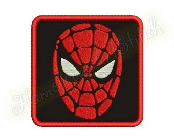 4х4 hoop, Spiderman, Coasters Rug Mat, double-sided, Of Felt, machine embroidery applique design, 1 size, In The Hoop, File INSTANT DOWNLOAD