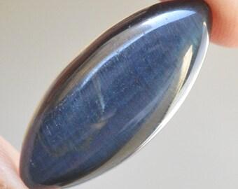 12 Ct Natural Powerful Loose Marquise Cut Blue Tiger Eye Gemstone 23x11x5.2 MM R0544