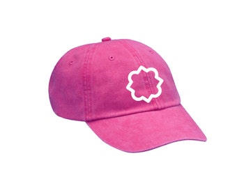 Phi Mu Quatrefoil Hat Choose Your Colors Sorority Hat