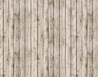 Play Ball - White Fence Fabric - Antique - sold by the 1/2 yard