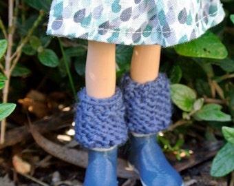 Handmade LEG WARMERS to fit Playful Child Dolls