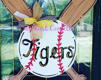 Baseball Door Hanger, Softball Door Hanger, Door hanger