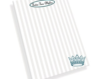 Zeta Tau Alpha Mascot Notepad