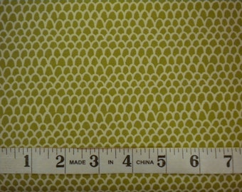 1 YD - Honeycrisp Piper (scallop print) by Stella
