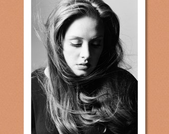 ADELE - Portrait, 2012 - Giclée/Photo print