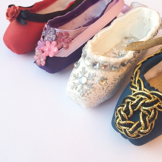 Items similar to custom decorated pointe shoe ornament for Ballet shoes decoration