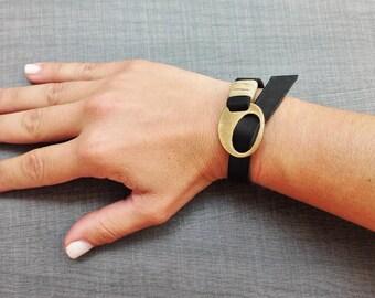 Leather Bracelet, Leather Cuff Bracelet, Womens Bracelet, Mens Bracelet, Wrap Bracelet Cuff