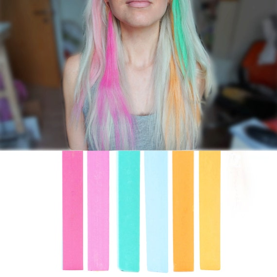 6 best temporary rainbow ombre hair dye for dark and light
