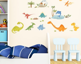 Decowall,DW-1505,Dinosaurs Wall Stickers