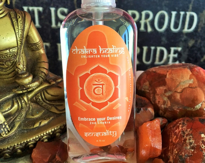 Chakra Spray for your Sensual Chakra (Sacral) infused w/ Reiki// Perfect Boyfriend/Girlfriend Gift