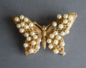 1930s Pearl Butterfly