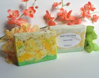 Flower Fields handcrafted soap