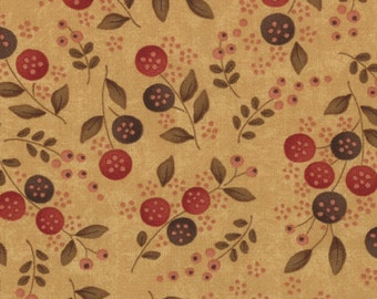 Late Bloomers by Sandy Gervais (17626-11) Quilting Fabric by the 1/2 Yard