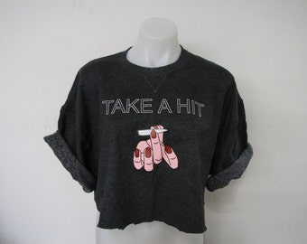 Recycled Take A Hit Crop Top