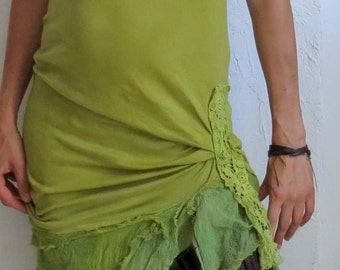 dress for fairies - boho, hippie, fae, wood