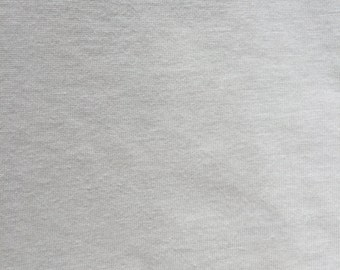 Cream Cotton Jersey Fabric 160cm Wide 100% Cotton Stretch Jersey