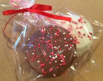 Chocolate Covered Oreo's- Valentine's Day- One Dozen